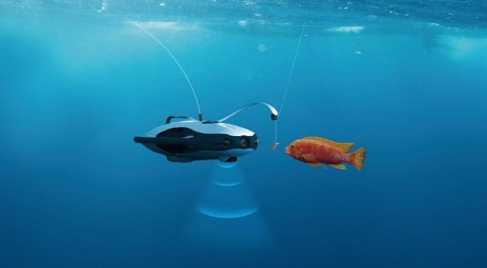 4K 촬영·루어 낚시까지… 잠수 드론