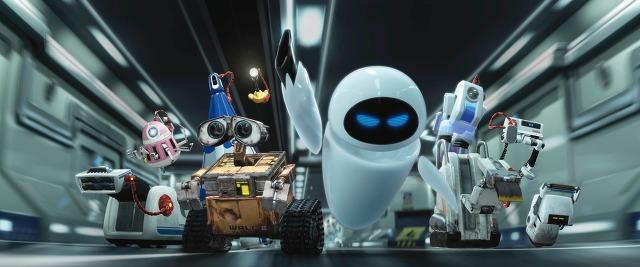 로봇의 1차 포인트 '눈'