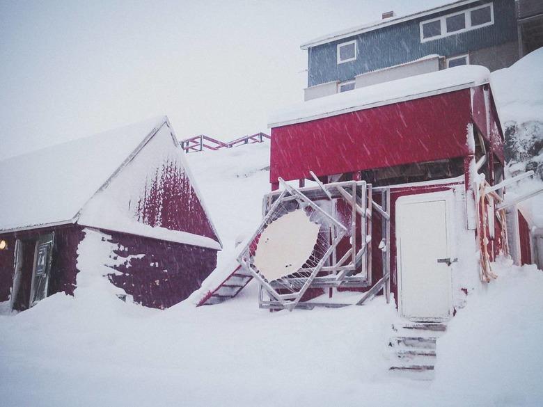 그렇게 당연한 그린란드의 겨울