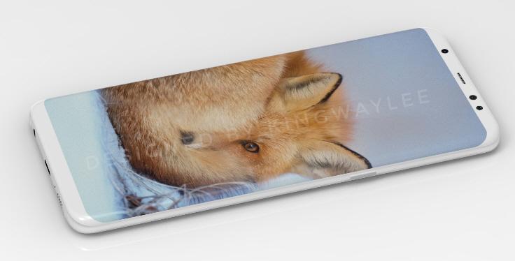 모습 드러낸 '갤럭시 S8' 베젤리스
