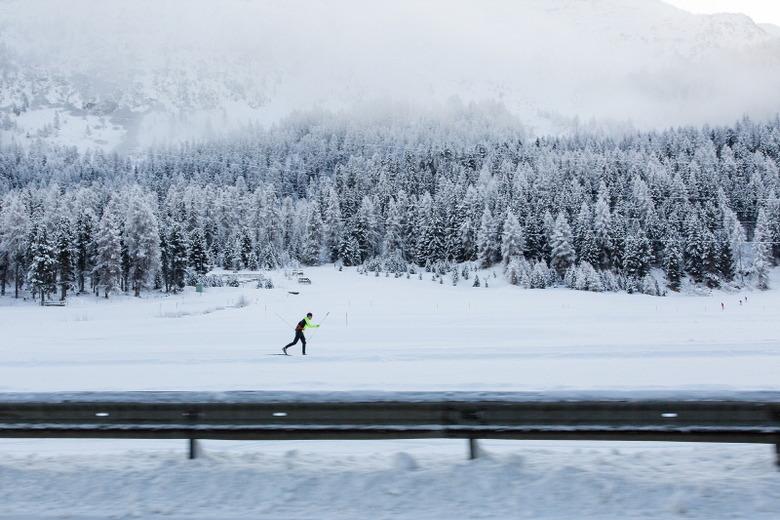 반짝이는 겨울 휴양지, 생모리츠