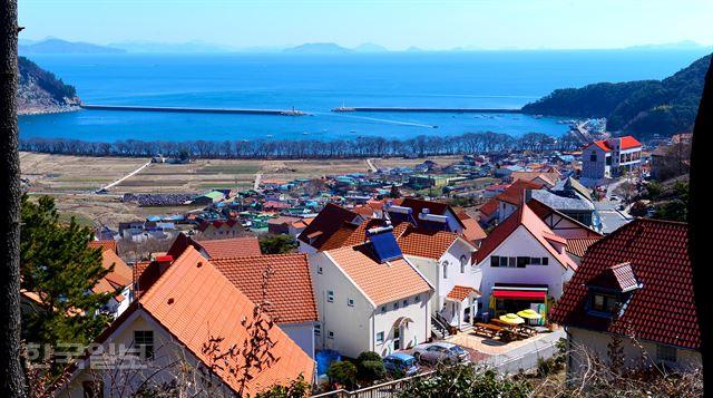 독일마을과 물건마을, 동ㆍ서 조화가