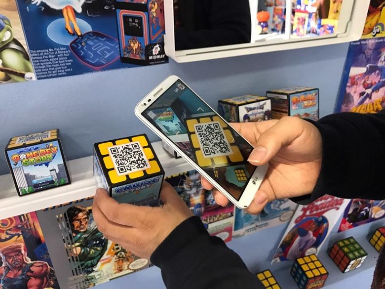 모바일 게임을 오프라인에서 판매?…동