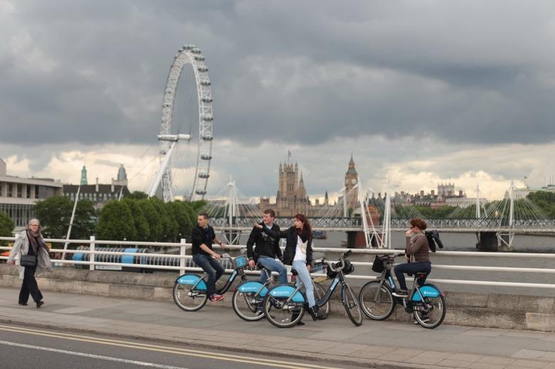 색다른 런던 여행, 자전거로 둘러보는