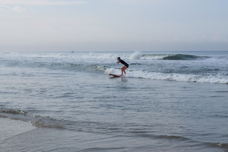 아라비아 해의 신비로움이 출렁이는