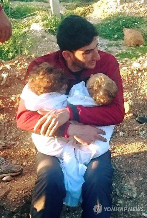 """""""증인 돼달라"""" CNN, 시리아 어린"""