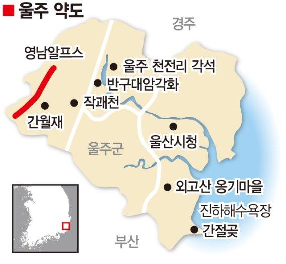 이곳은 한국의 알프스, 울주입니다