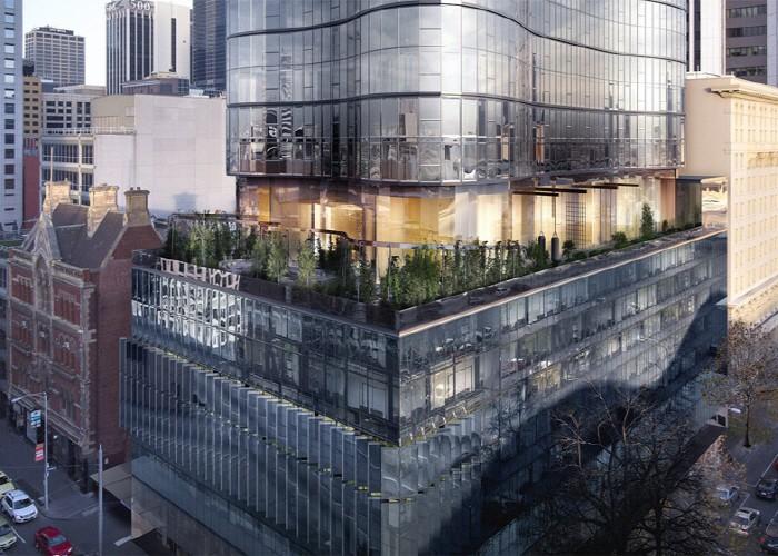 비욘세에 영감을 받은 고층빌딩