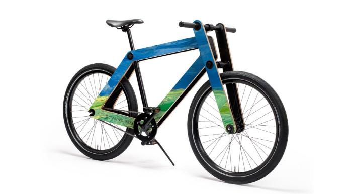 고흐와 DIY 자전거가 만나면…