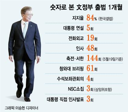 문재인 대통령 취임 한달(상)