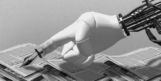 저널리즘의 미래, 로봇이 그리다
