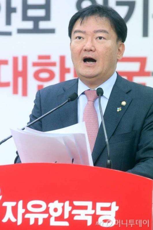 """민경욱, 항의문자에 '실명' 답변…"""""""