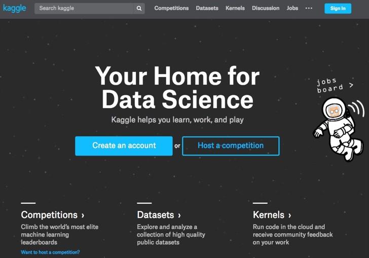 Kaggle : 데이터 과학자들을 위