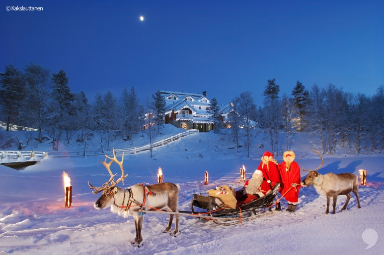 핀란드 오로라 여행은 어때요?