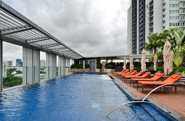 방콕 숙소 추천 : 방콕 인피니티 풀