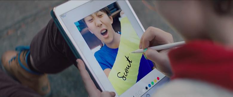 아이패드 프로 광고에 숨긴 애플의 속