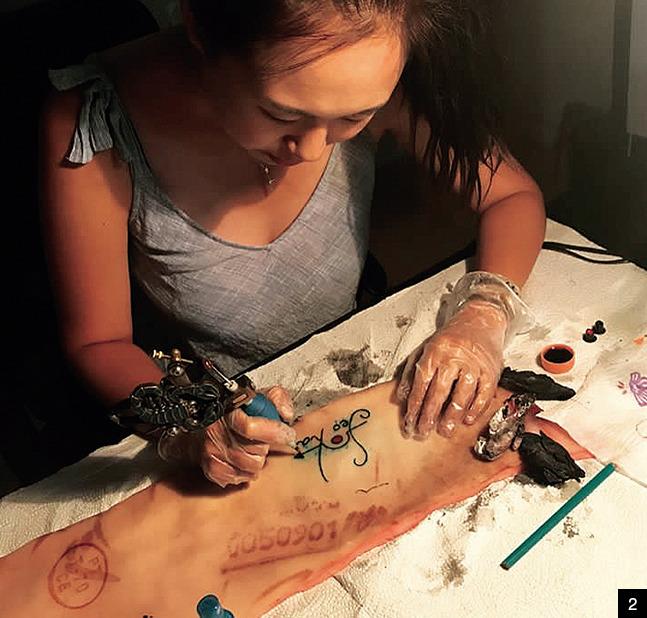 타투, 영원으로 남는 예술