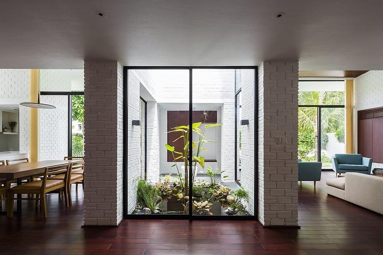 집 전체를 정원으로 만든 독특한 디자