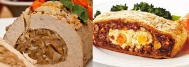 두부로 만든 로스트(tofu roast), 견과류로 만든 로스트(nut roast)/가디언