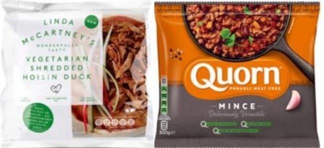 밀의 글루틴을 이용한 세이탄(Seitan), 식물성 균을 이용한 퀀(Quorn)