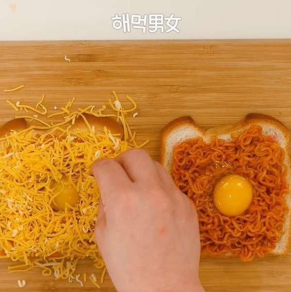 편의점 퓨전 간편 음식 불계토스트