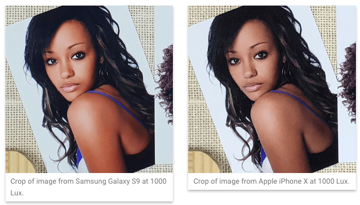 갤럭시S9+ vs 아이폰X, 카메라