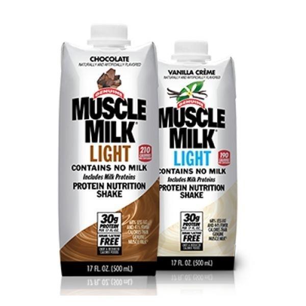 단백질 우유.