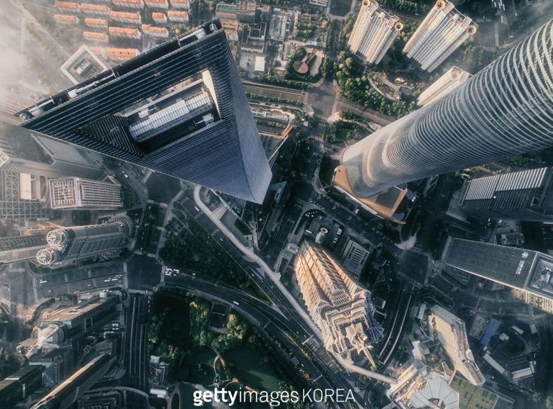 전 세계 8대 초고층 빌딩에서 바라본