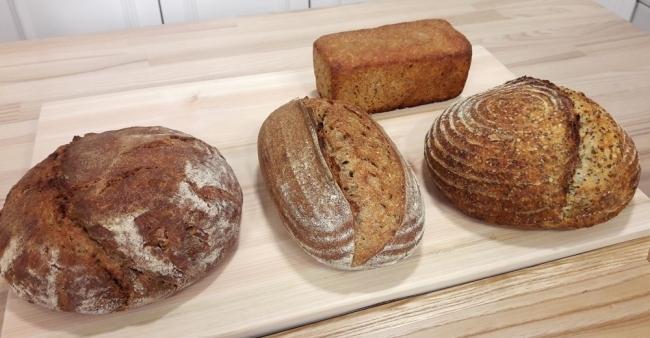 김경란 아나운서가 만든 다양한 사워도우 빵.