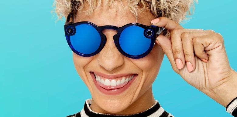 스냅챗, 캠코더 안경 스펙터클 V2