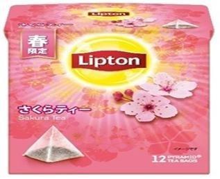 립톤이 일본에서 출시한 '사쿠라티'