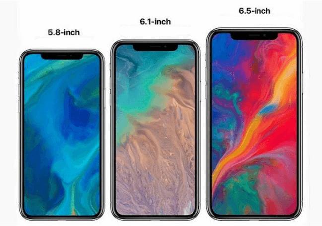 아이폰X 2세대 & 아이폰9, 목업