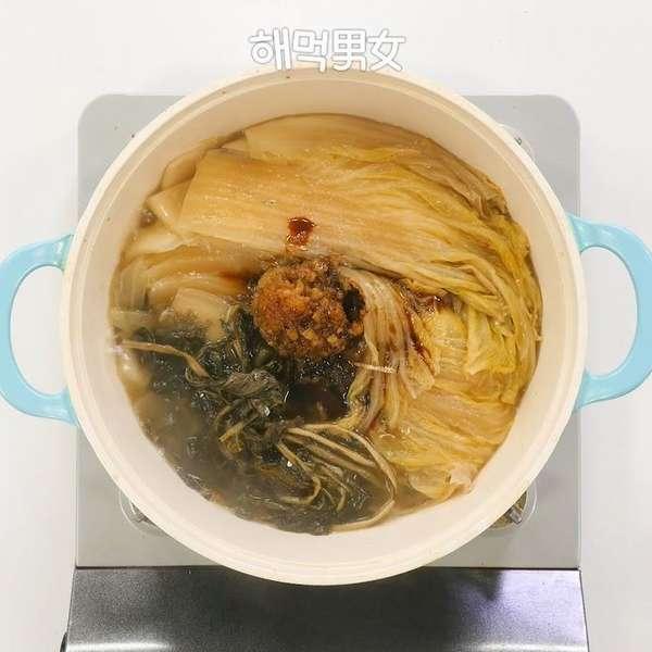 김수미표밥반찬 묵은지 볶음
