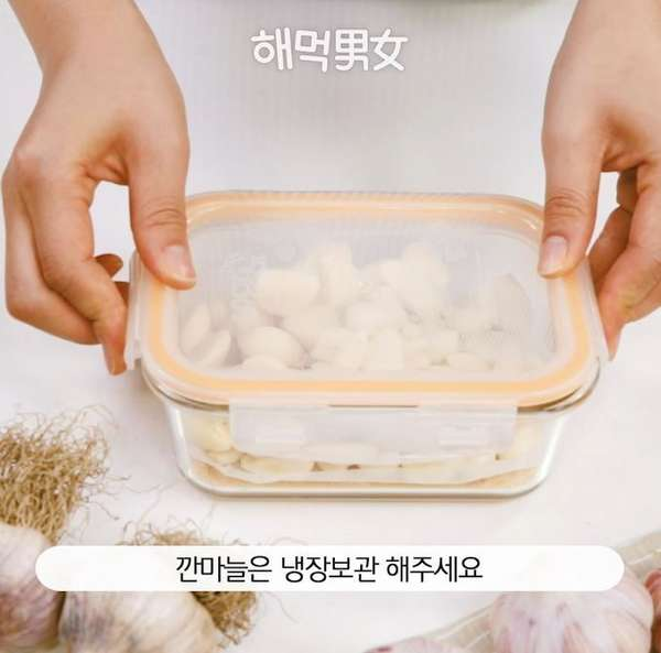 해먹식탐 - 마늘편
