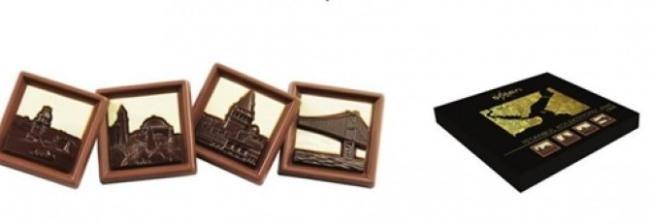 초콜릿이 들어있는 터키 현지브랜드의 '이스탄불세트'