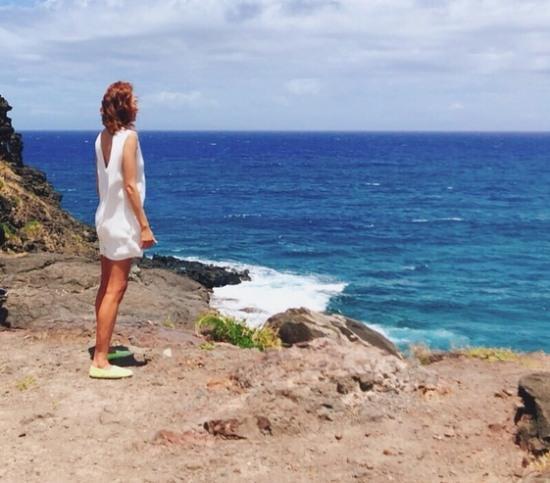 야노 시호, 하와이 이주 근황..지상