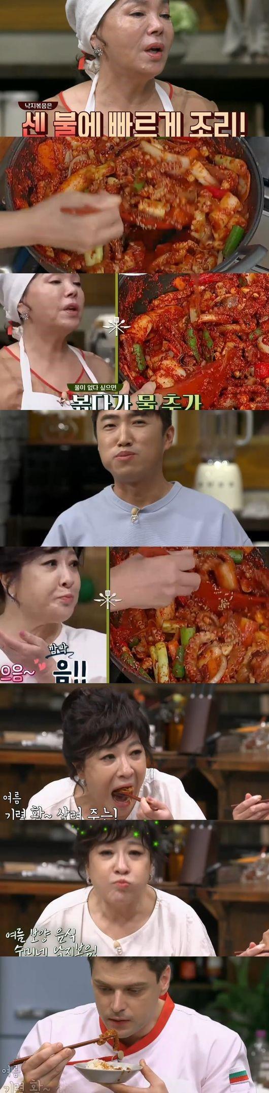 '수미네반찬' 김수미표 낙지볶음에 시