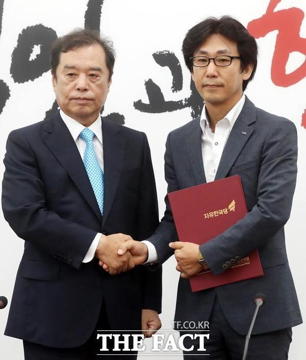 김대준 비대위원 사퇴… 김병준號 시작