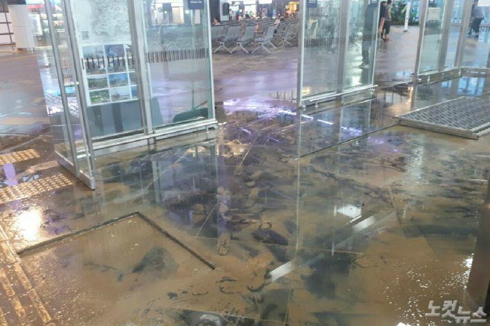 강릉 시간당 93㎜... 역대급 폭우