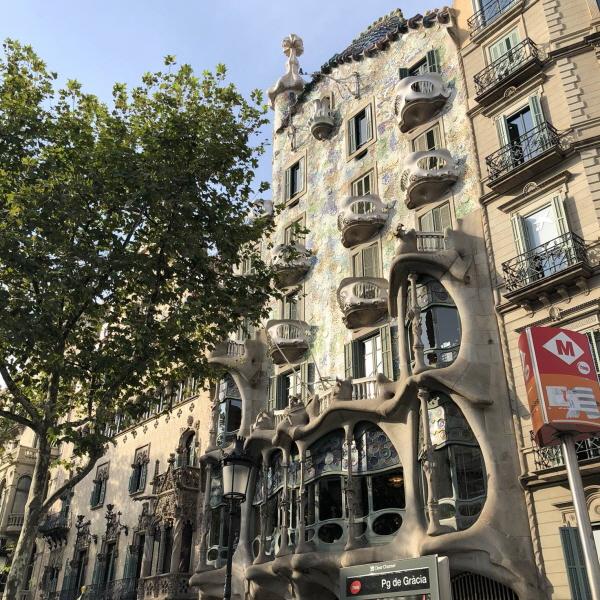 바르셀로나, 가우디의 건축과 예술여행