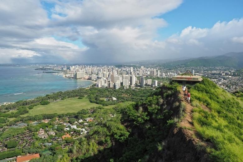 다이아몬드헤드 트레킹 /하와이 여행