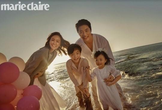 권상우♥손태영, 결혼 10주년 가족