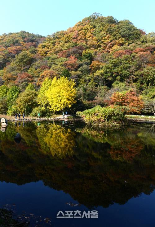 '호숫가에서 즐기는 가을 트레킹' 전