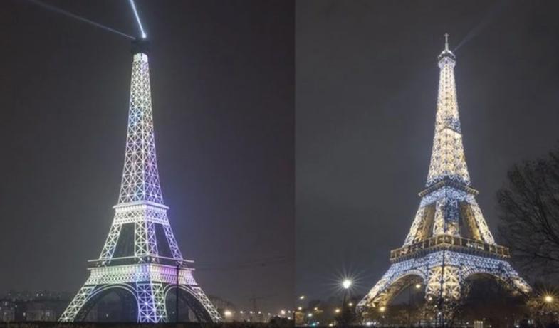 어느 쪽이 진짜 에펠탑?… '짝퉁도시