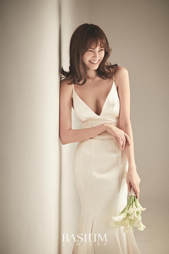 '17일 결혼 ♥' 양미라 웨딩화보,