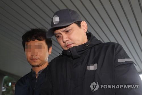 """음주사망사고 황민 첫재판…""""수감 스트"""