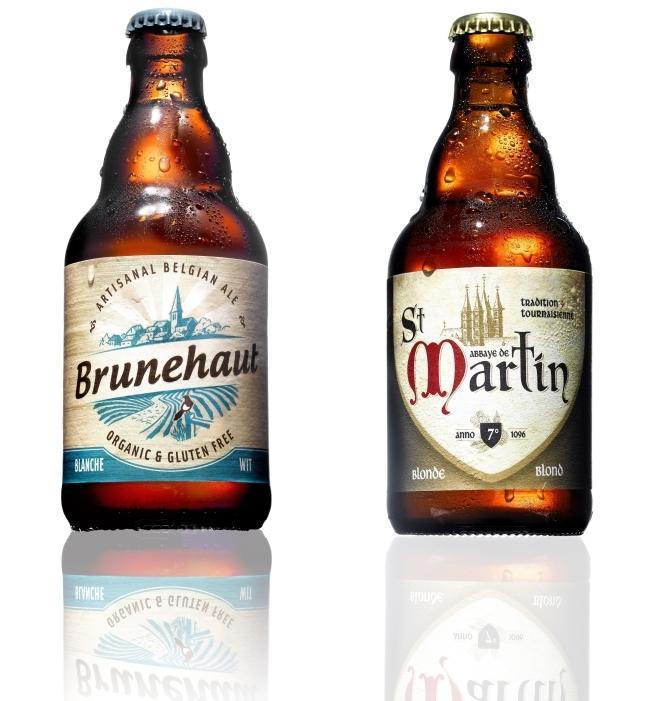 '브라세리 드 브룬하우트'(Brasserie de Brunehaut)의 글루텐 제거 맥주