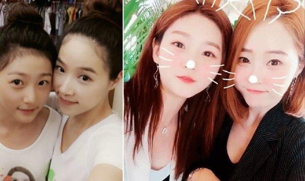 '동안 미모'로 화제 김새론 엄마…알