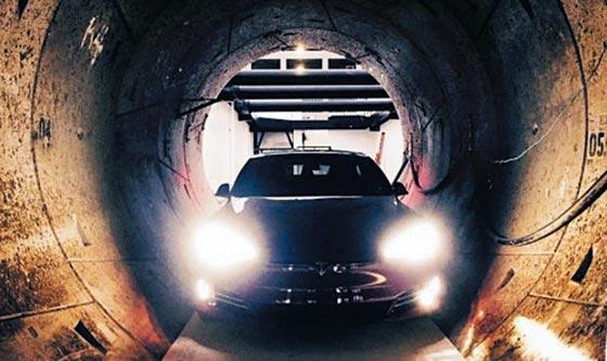 시속 250㎞ 가능한 지하터널, 마하