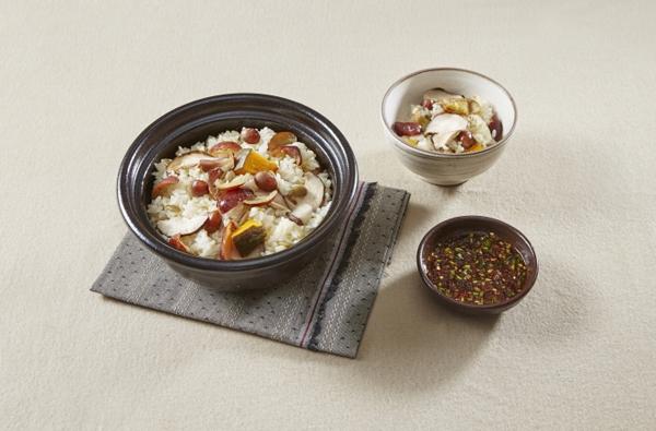 평범한 쌀밥 대신 대추로 만든 영양밥